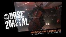 Apocalyptica - Une Dose 2 Metal (Teaser)