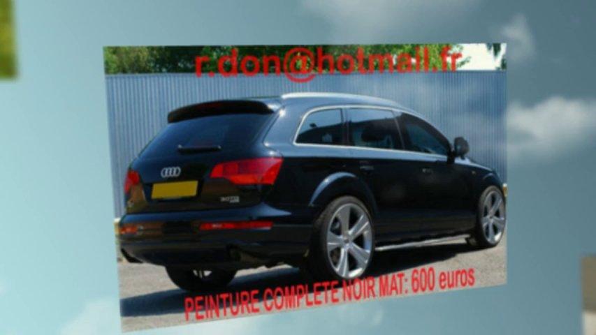 Audi Q7 noir mat, Audi Q7 noir mat, Audi noir mat, Audi Q7 Covering noir mat, audi Q7 peinture noir mat, Audi Q7 noir mat
