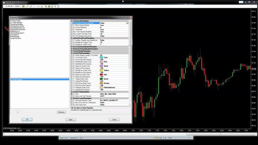 Trade Manager v3 – Update for NinjaTrader's Diversified Trading System (DTS) | Indicator Warehouse