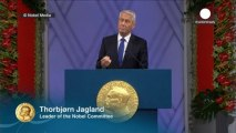 OPCW receives Nobel Peace Prize in Oslo