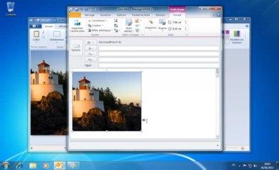 Outlook | ajouter une capture écran dans un email