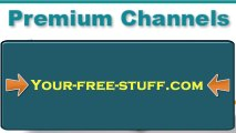 BEST EASY WAYS to get FREE PREMIUM CABLE HD SATELLITE CHANNELS !