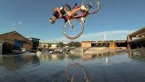 Faire du freestyle avec un vélo de course