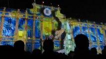 Fête des lumières Lyon 2013 - Place des Terreaux : Le Prince des Lumières