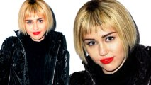 Miley Cyrus Pixie Hair Gone Bob - Debuts New Hair - Hot Or Not?