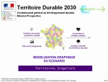 Territoires Singuliers 2030 : modélisation graphique du scénario  - GEOPROSPECTIVE - TD30