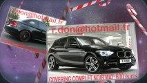 BMW Serie 1 noir mat, BMW Serie 1 noir mat, BMW noir mat, BMW Serie 1 Covering noir mat, BMW Serie 1 peinture noir mat, BMW Serie 1 noir mat