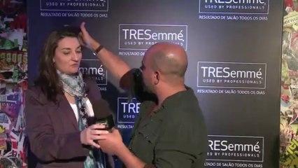 Dicas de como estilizar o cabelo usando mousse - TRESemme