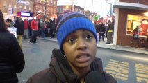 Chicago's fast-food workers on strike: 'All I want is a fair chance' – video