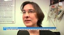 Elections municipales : Muriel Ressiguier conduira la liste Front de gauche/Parti de gauche en 2014