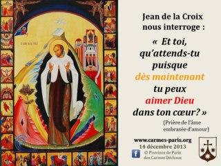 2. Prier avec l'icône de saint Jean de la Croix