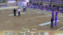 Tir progressif, demi-finales, Sport Boules, Mondial U18 Martigues 2013