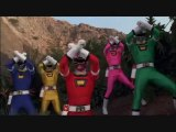 """Turbo: A Power Rangers Movie- Morphing Sequence in """"Mighty Morphin Power Rangers"""" order"""