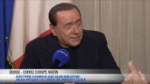 Silvio Berlusconi invité exceptionnel d'Europe Matin