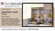 Studio Apartment for rent - Porte Maillot/Palais des Congrès, Paris - Ref. 2288