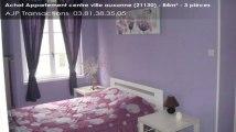Vente - appartement - centre ville auxonne (21130)  - 84m²