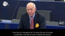 Godfrey Bloom, coup de gueule au Parlement Européen 2013
