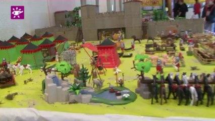 Téléthon 2013 : 2500 Playmobils à Wimille (62)