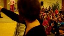Restitution des ateliers du temps de midi école élémentaire Disco avec Danse Project