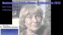 Hommage à Sylvie Simon: Claire Séverac, Monique Beljanski sur Radio Courtoisie - 08/12/2013 - PART2/2