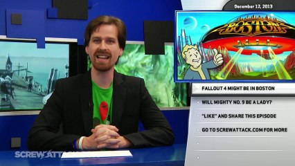Hard News 12/12/13 - Terminal Reality shut down, Fallout 4 in the works, and is Mighty No. 9 a lady? - Hard News Clip
