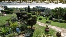 A vendre - maison - PROCHE ALES (30560) - 5 pièces - 130m²