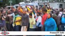 L'Afrique du Sud chante et danse «Madiba»