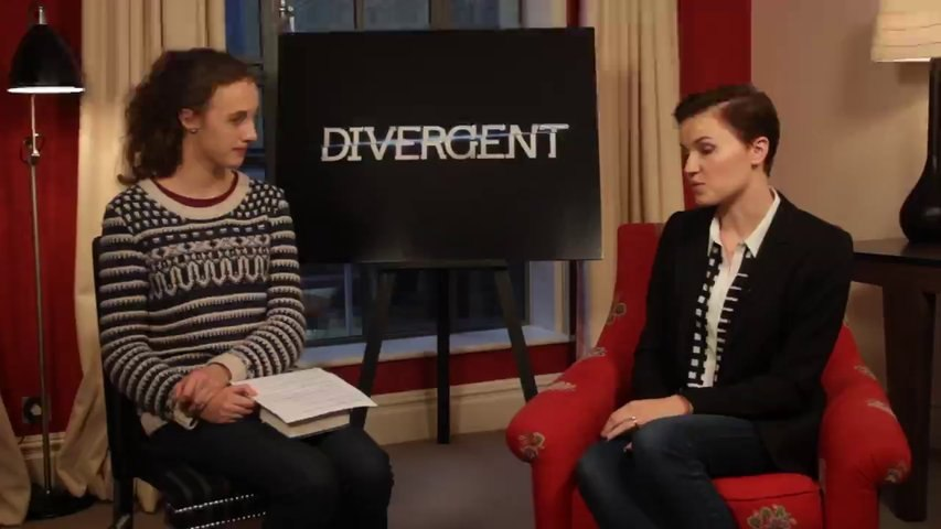 Veronica Roth interview - video