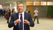 Franck Proust répond aux questions d'étudiants en master en gestion de projets culturels à l'Université de Bordeaux 3