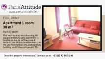 Studio Apartment for rent - Grands Magasins - La Fayette, Paris - Ref. 3463