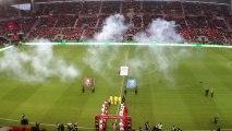#SRFCPSG Bro Gozh ma Zadou et entrée des deux équipes : ambiance !