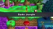 New Super Mario Bros U Walkthrough 15 Layer-Cake Desert Secret Level All Star Coins HD 1080p Wii U