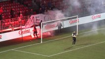 Stade Brestois 29 - Nîmes Olympique (1-1) - 13/12/13 - (SB29 - NIMES) - Résumé