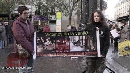 Rassemblement contre la fourrure (14.12.2013)