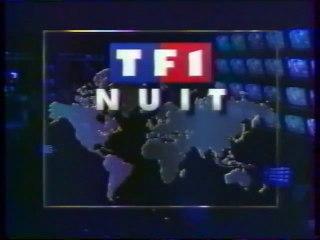 Le journal de la nuit 25 Décembre 1992 TF1