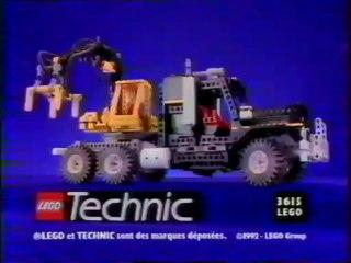 Publicité Lego Technic 1993