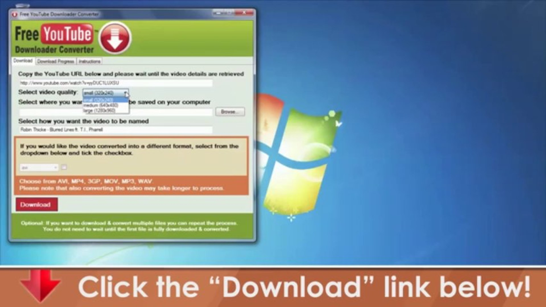 Free You Tube MP3 Converter -- Free Download Software