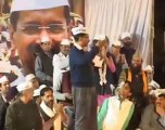 Arvind Kejriwal Addressing at Jantar Mantar (Part 1)