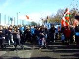 Flashmob sosten presonièrs bascos
