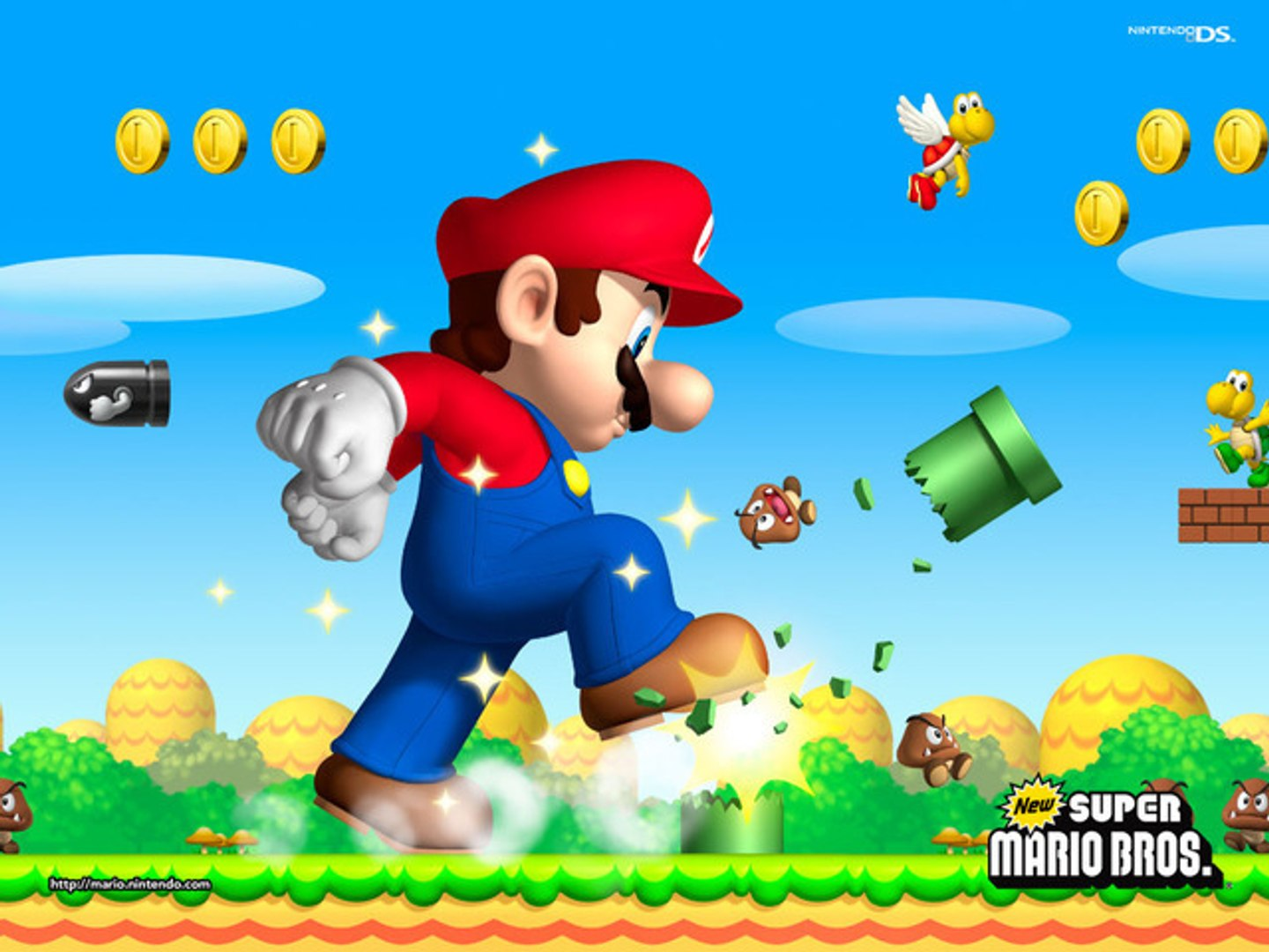 Super Mario Bros 2 Ds World 1 Tower Star Coins — TTCT