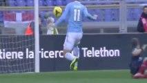 Gol di Miroslav Klose ( Lazio - Livorno 1-0 ) 15/12/2013 Serie A