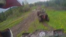 ATV Rough Terrain Offroading