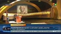 Perpetuemos el legado de Nelson Mandela: Jacob Zuma