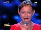 Une Roumaine de 12 ans chante Je suis malade