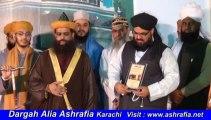 Nishan e Ashraf to Syed Muzaffar Hussain Shah From Dr Syed Muhammad Ashraf Jilani