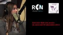 """Passage des jeunes de la webTVjeunes de Thionville à l'émission """"Défi Cité Jeunes"""" sur RCN à Nancy."""