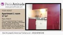 Studio Apartment for rent - Batignolles, Paris - Ref. 6327