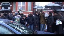 Protest in Manchester in front of Pakistani consulate against Shia Genocide In Pakistan
