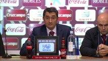 Rueda de Prensa de Valverde tras el Sevilla FC (1-1) Athletic Club