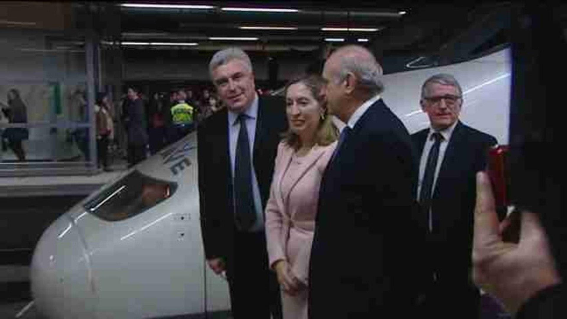 España y Francia unidas por la alta velocidad
